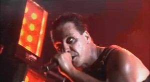 Rammstein live [YouTube screenshot]