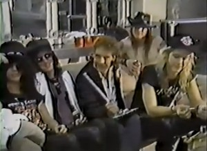Guns N Roses interview clip [YouTube screenshot]