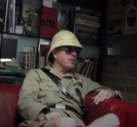 Boyd Rice interview [YouTube screenshot]