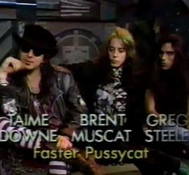 Faster Pussycat interview [YouTube screenshot]