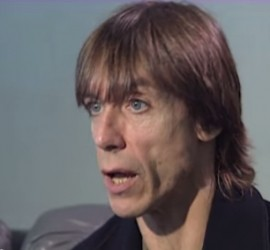 Iggy Pop interview [YouTube screenshot]