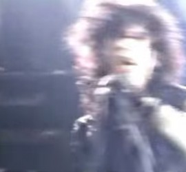 Stiv Bators, Lords of the New Church live [YouTube screenshot]