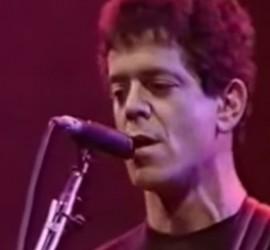 Lou Reed live [YouTube screenshot]