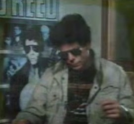 Lou Reed interview [YouTube screenshot]