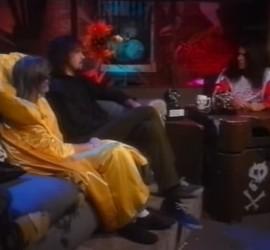 Nirvana interview [YouTube screenshot]