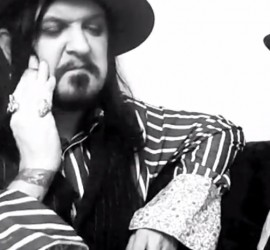 Tyla of The Dogs D'Amour interview [YouTube screenshot]