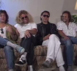 Van Halen interview [YouTube screenshot]